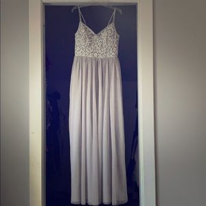 BHLDN Elowen Dress in Fog